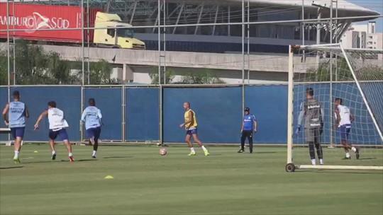 Tardelli faz primeiro trabalho com bola, e André se destaca em jogo-treino do Grêmio