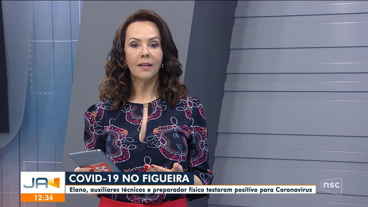 Elano, auxiliares e preparador físico do Figueirense testam positivo para coronavírus