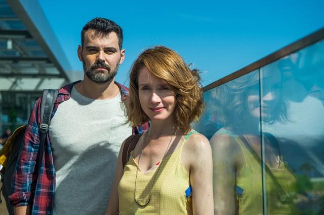 Camila Morgado e Carmo Dalla Vecchia são Gabriela e Rafael em 'Malhação' (Foto: Globo/Raquel Cunha)