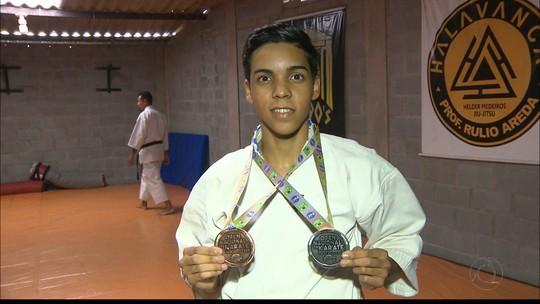 Caratecas paraibanos se destacam em competições Brasil afora