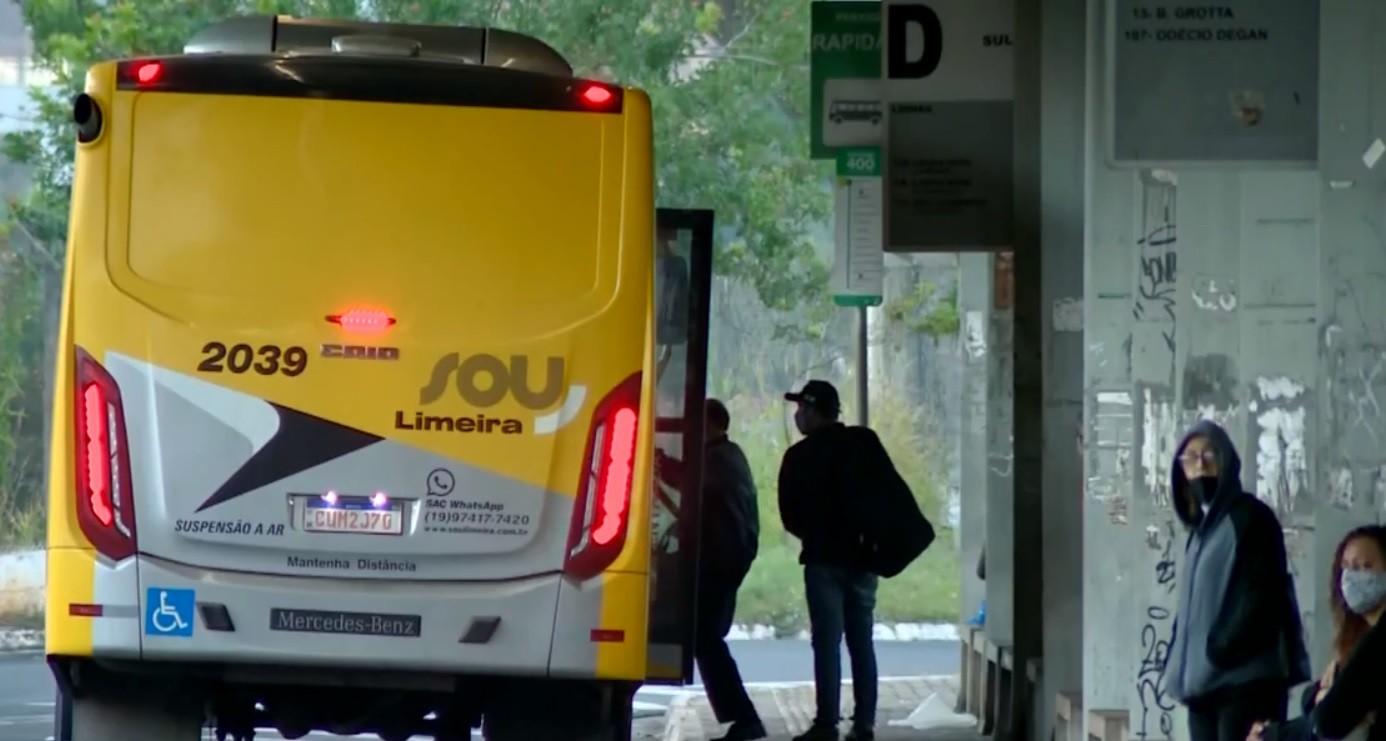 Após ação judicial, motoristas suspendem paralisação e ônibus voltam a circular em Limeira