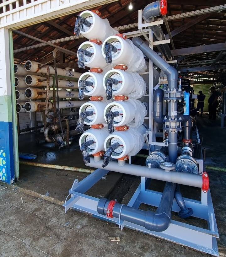 Com avanço nas obras de dessalinizador, Compesa anuncia fim de racionamento de água em bairros de Noronha