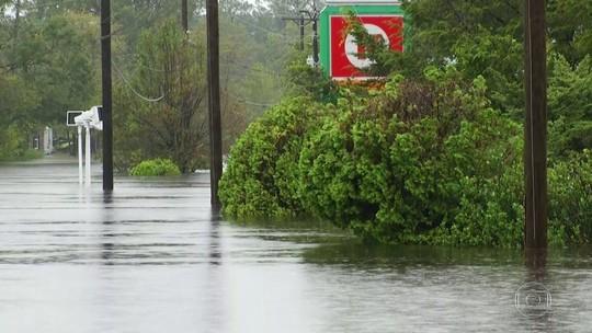 Estados Unidos, China e Filipinas sofrem com efeitos de tempestades