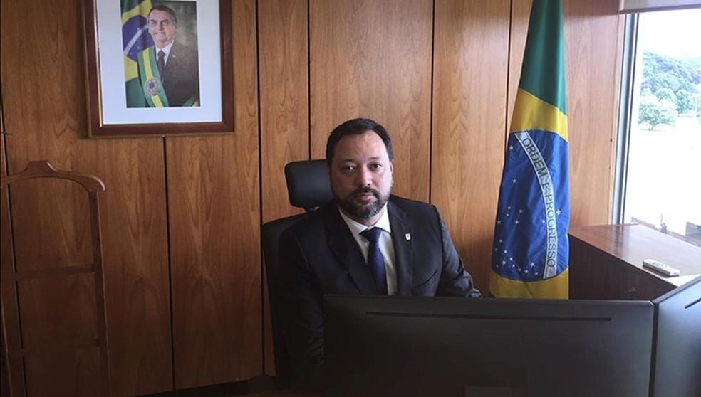 Alexandre Lopes é o novo presidente do Inep — Foto: Divulgação
