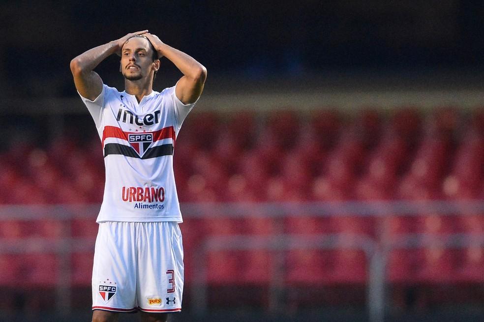 Rodrigo Caio nos tempos de São Paulo — Foto: MAURO HORITA/ESTADÃO CONTEÚDO