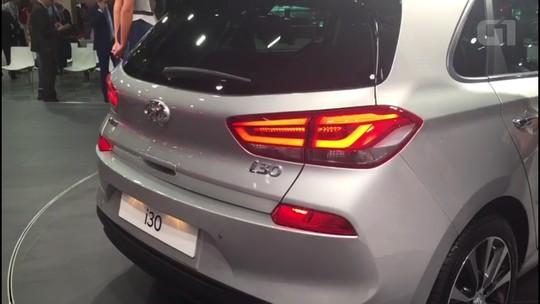 VÍDEO: Veja detalhes da nova geração do Hyundai i30