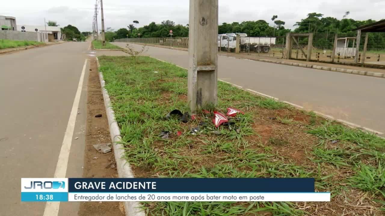 Grave acidente é registrado em Ariquemes