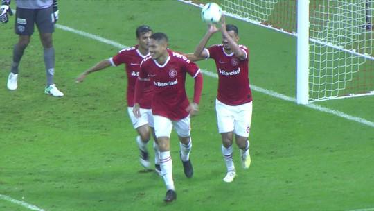 Veja os gols de Internacional 3 x 1 Paysandu pela Copa do Brasil
