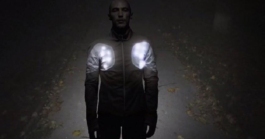 Casaco com LED pode salvar a vida de atletas de rua
