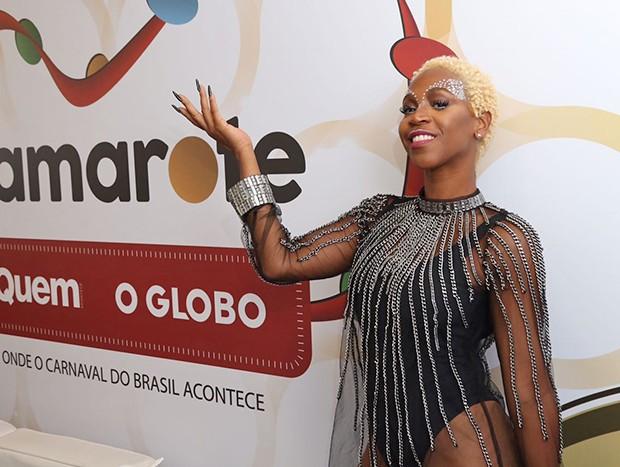 Karol Conka (Foto: Daniel Janssens/ Ed.Globo)