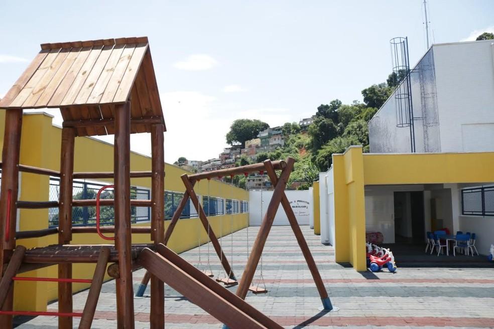 Creches podem atender filhos de profissionais que trabalham em atividades essenciais — Foto: Divulgação/ Prefeitura de Santos