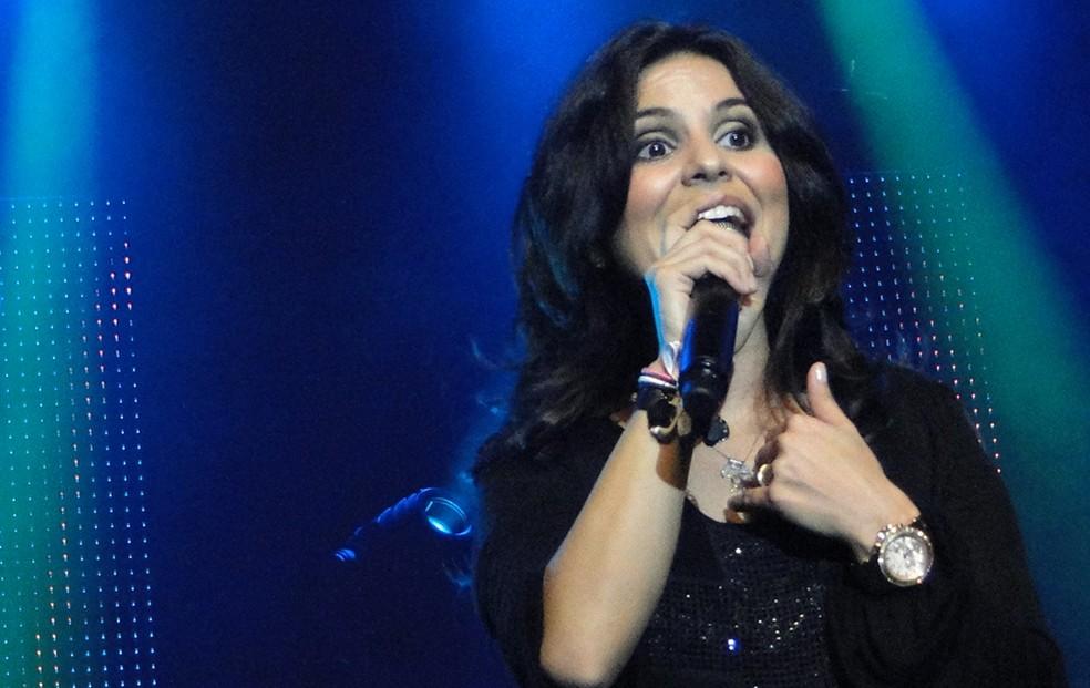 Aline Barros (Foto: Pedro Cunha/G1)