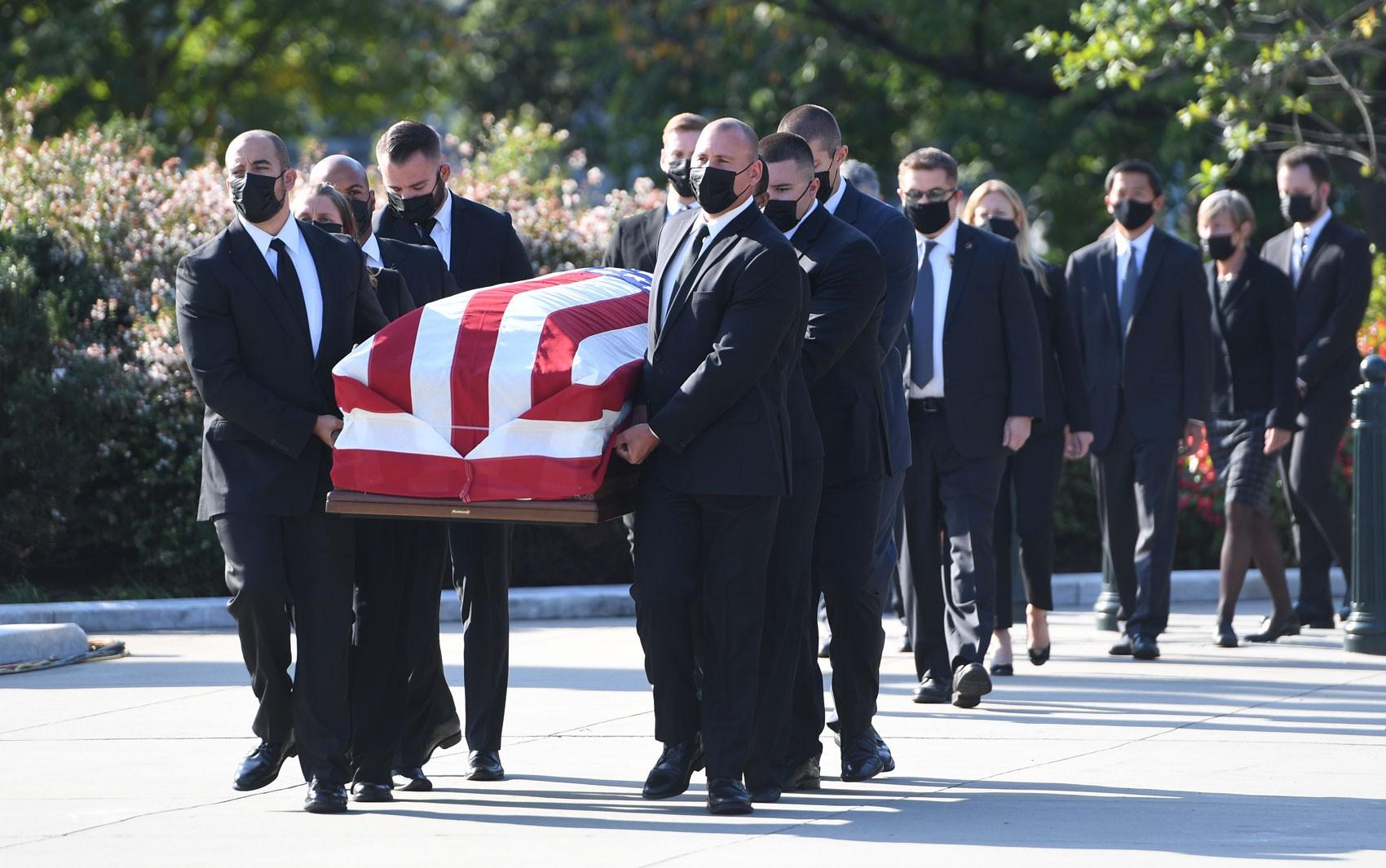 EUA começam três dias de homenagens para juíza da Suprema Corte Ruth Bader Ginsburg