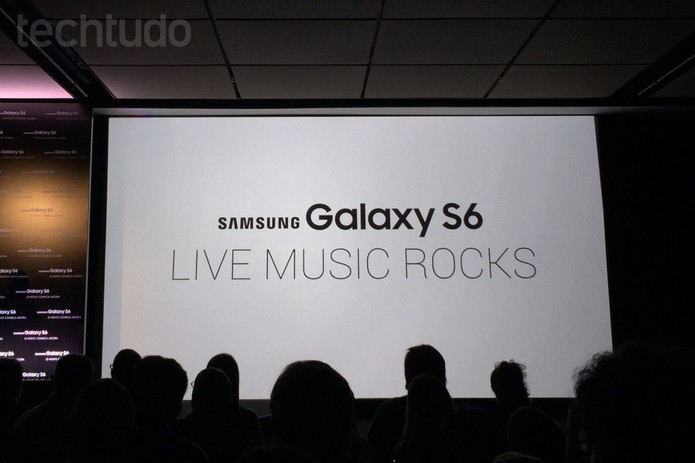 Samsung Galaxy S6 Live Music Rocks, programa que distribui ingressos de shows a compradores dos novos aparelhos (Foto: Fabrício Vitorino/TechTudo)
