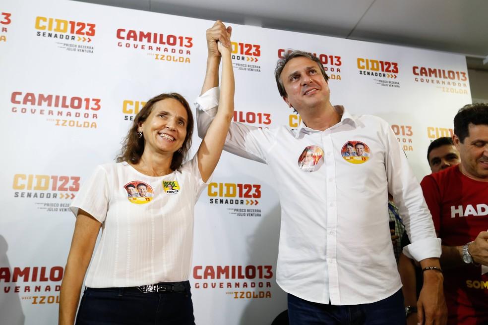 Camilo Santana é reeleito governador do Ceará — Foto: JL Rosa/Agência Diário