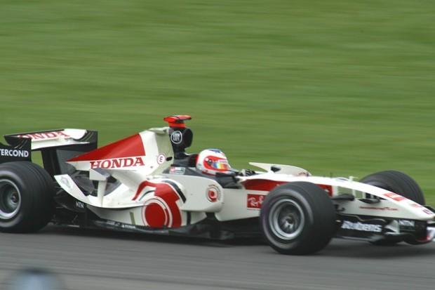 Rubens Barrichello correu pela Honda entre 2006 a 2008 (Foto: Wikimedia Commons)
