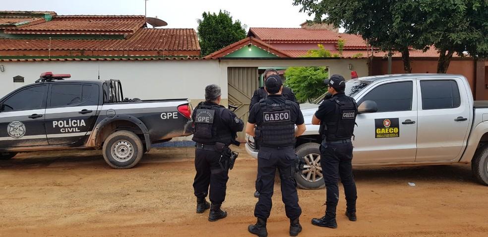 Operação Tetracarca (Foto: Reprodução/Polícia Civil)