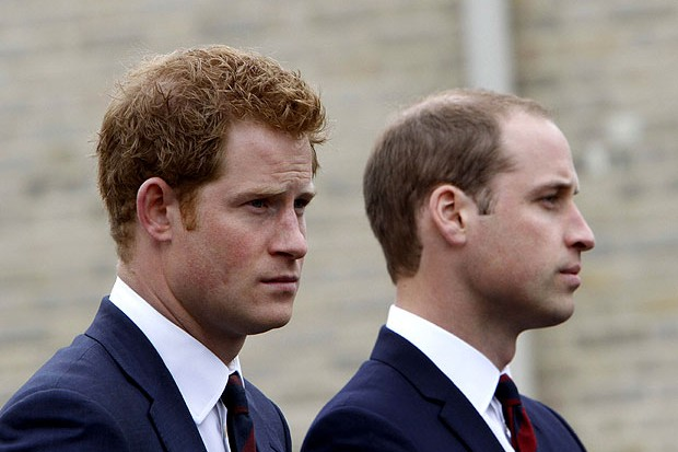 Príncipe Harry e príncipe William (Foto: Getty Images)