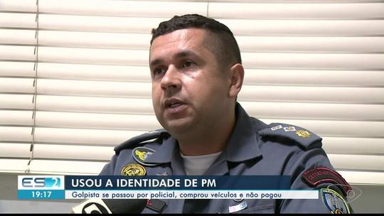 Suspeito usa nome de major da PM para aplicar golpes e dá prejuízo de quase R$ 50 mil, no ES