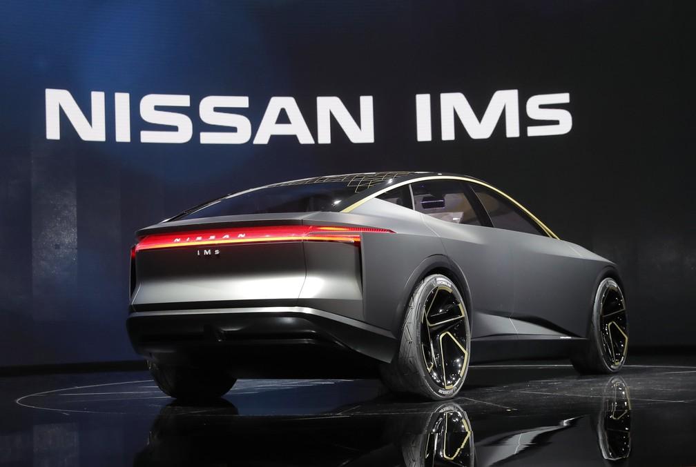 Nissan IMs no Salão de Detroit 2019 — Foto: Rebecca Cook/Reuters