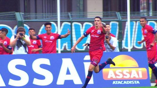Inter chama jovem campeão da Taça das Favelas para período de testes