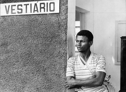 Perivaldo, em 1979, quando atuava pelo Botafogo