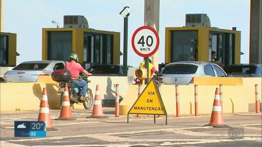 Motociclistas criticam cabines exclusivas inativas em pedágios na região de Ribeirão Preto