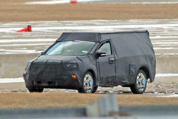 Protótipo da divisão da Ford na austrália pode se referir à nova picape flagrada em março   (Foto: Automedia)