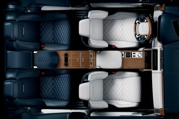 Range Rover SV Coupé (Foto: Divulgação)