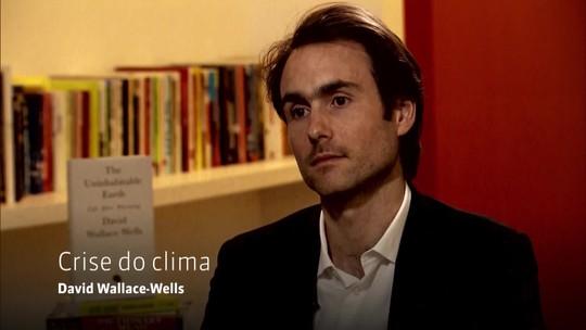 Milênio entrevista David Wallace-Wells sobre a crise do clima