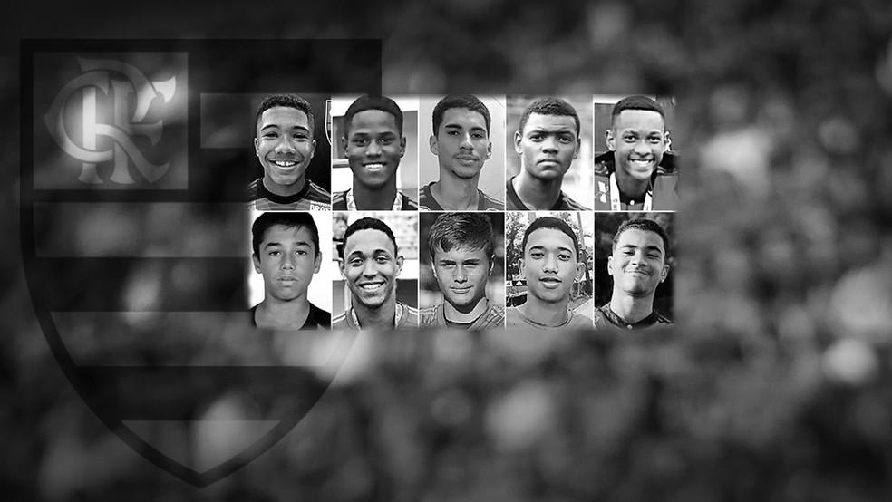 Incêndio no dia 8 de fevereiro matou 10 jogadores das categorias de base do Flamengo — Foto: Infoesporte
