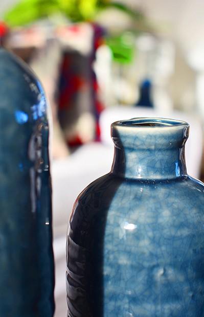 Detalhe de vasos da nova coleção da Camicado (Foto: Divulgação)
