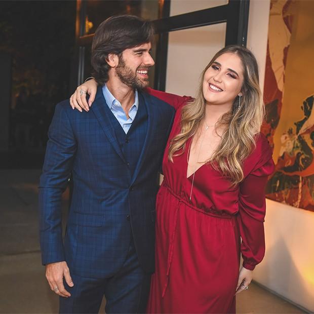 Marcos Pitombo e Bruna Vicente (Foto: Divulgação/ Daniela Ramiro)