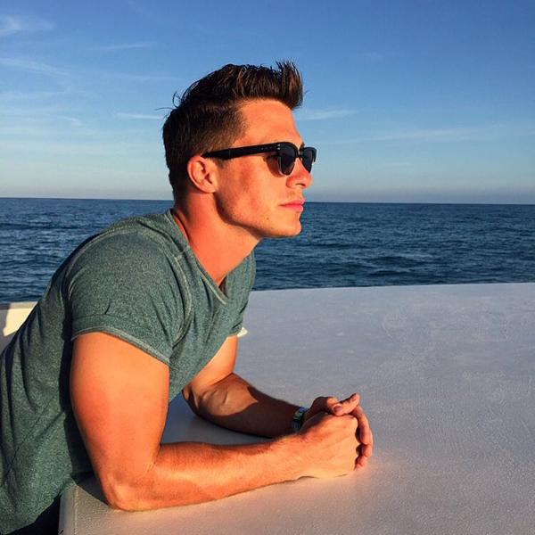 O ator Colton Haynes (Foto: Instagram)