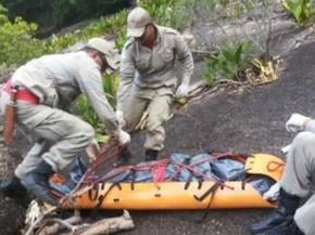 Corpo foi encontrado sem vida pelo Corpo de Bombeiros (Foto: Foto Leitor A Gazeta)