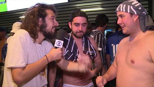 Cartolouco mostra os bastidores do jogo de ida da decisão da Copa do Brasil