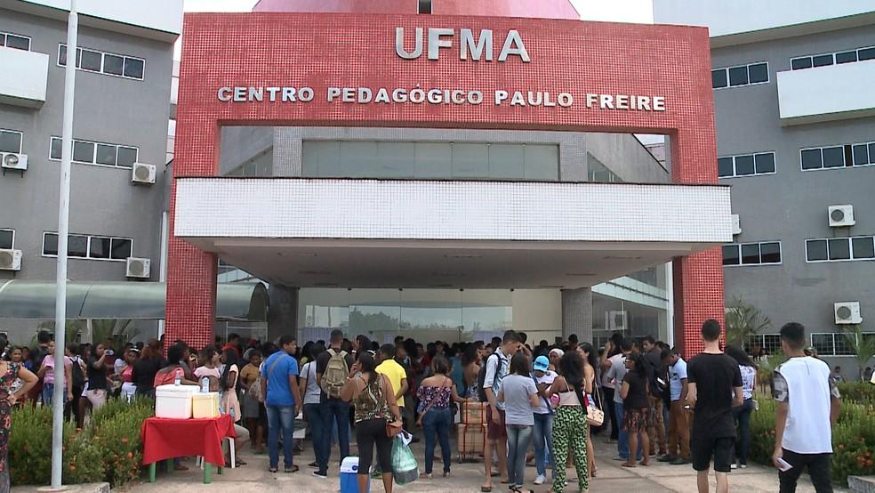 Mais de 216 mil candidatos fazem provas do 1º dia do Enem no Maranhão — Foto: Reprodução/TV Mirante