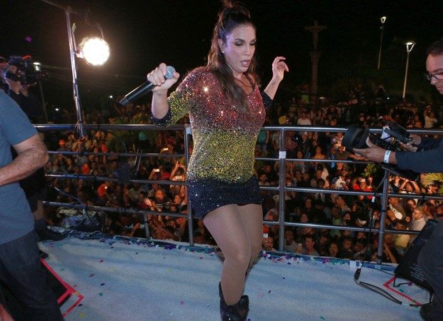 Ivete Sangalo (Foto: Dilson Silva e Denilson Silva/Agnews)