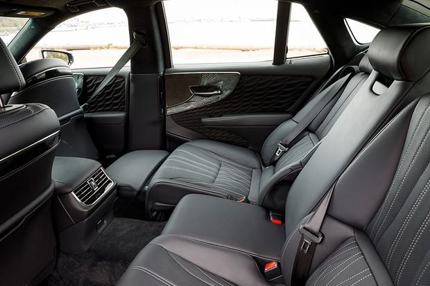 Lexus LS 500h (Foto: Divulgação)