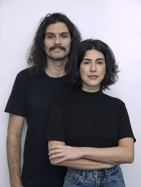 Fernanda Paes Leme com o irmão Alexandre (Foto: André Nicolau)