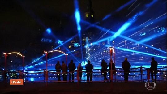 Festival de luzes ilumina um dos meses mais escuros na Dinamarca