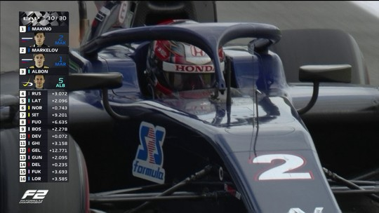 Makino vence primeira corrida da Fórmula 2 em Monza; Sette Câmara fica em sétimo