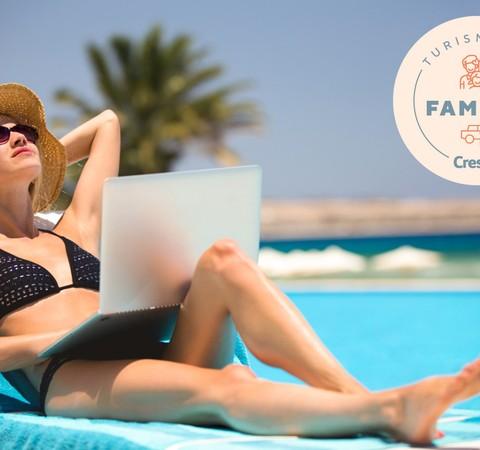 """""""Resort office"""" e as vantagens de viajar com a família durante a semana"""