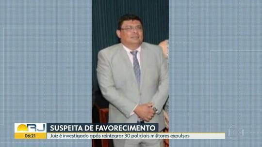 Juiz de Mangaratiba é investigado após reintegrar 30 policiais expulsos