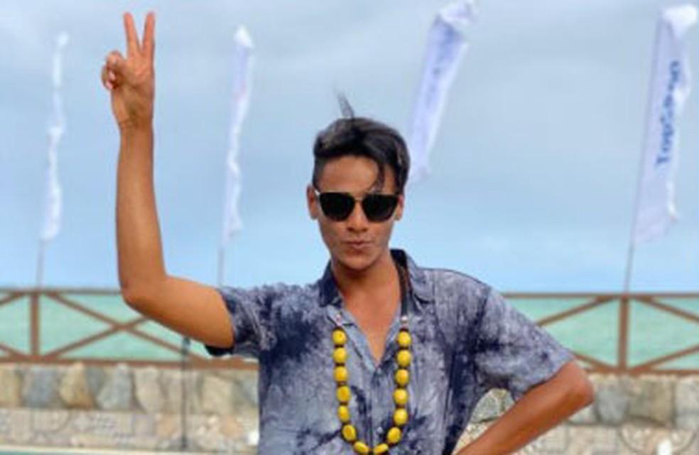 Influencer baiano viraliza com vídeo paródia de vinheta de fim de ano da Globo e participa do Fantástico — Foto: Reprodução/Redes Sociais