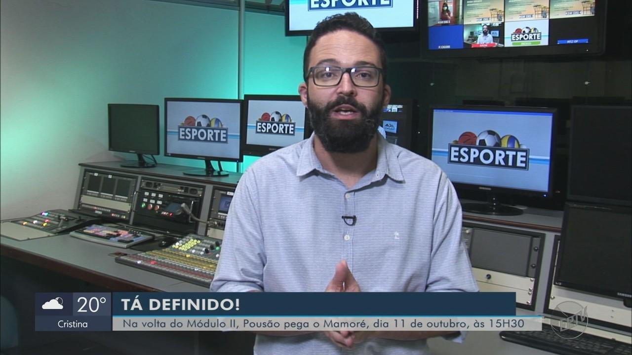 Diego Alves destaca a preparação do Pouso Alegre para reestreia no Módulo II