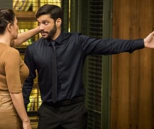 Nana (Fabiula Nascimento) e Diogo (Armando Babaioff) | TV Globo/João Cotta