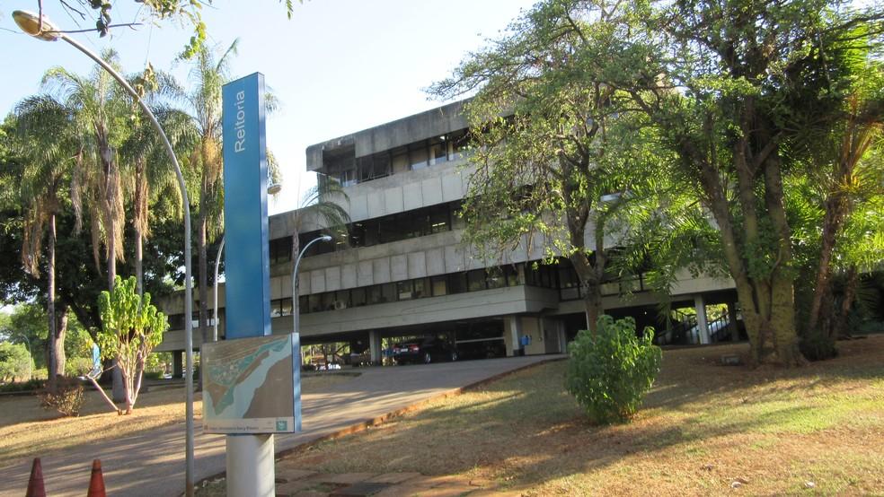 Prédio da reitoria da Universidade de Brasília (UnB) — Foto: Raquel Morais/G1