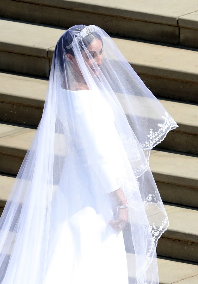 Meghan Markle usou Givenchy no seu casamenyto (Foto: Getty Images)