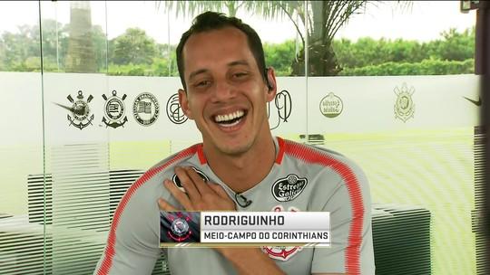 Rodriguinho fala sobre evolução e boa fase no Corinthians